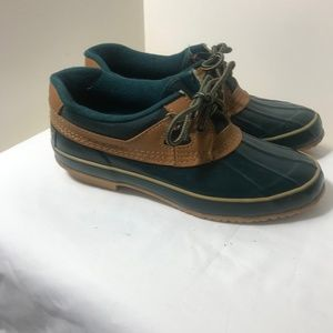 Sporto Duck Shoes  Rubber Leather Thermolite